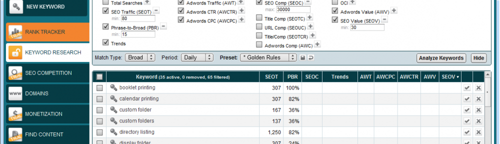 Market Samurai Screenshot